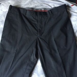 ADOLFO Men's Slim Fit Dress Pants